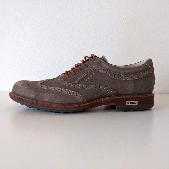 Ecco Tour Hybrid Golf Shoes 43 Wingtip Grey 9